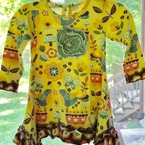 Jelly the Pug Adorable Swing dress 4T